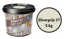 Sopro Bauchemie DesignFuge Flex DF10 zilvergrijs 1052-05