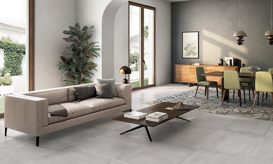 Emil Ceramica Be Square Concrete 80x80