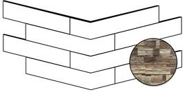 Novabell Brickup Dark Wood 25x49cm BKPA32