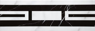 Villeroy & Boch New Tradition bianco nero 10x30cm 1771 ML04 0